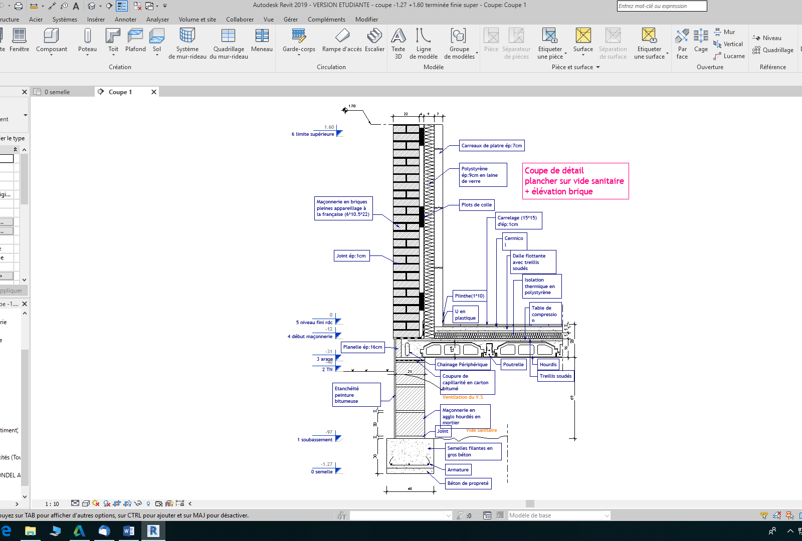 Revit-autodesk-modélisation-3d