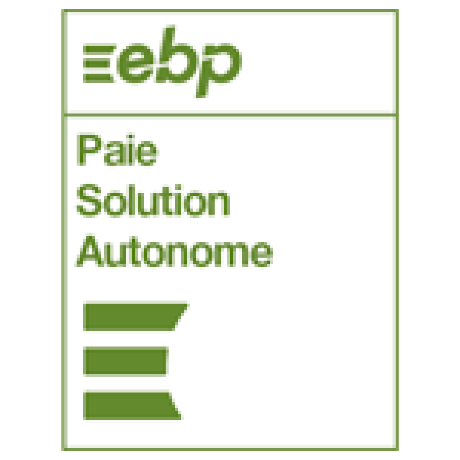 ebp paie solution autonome